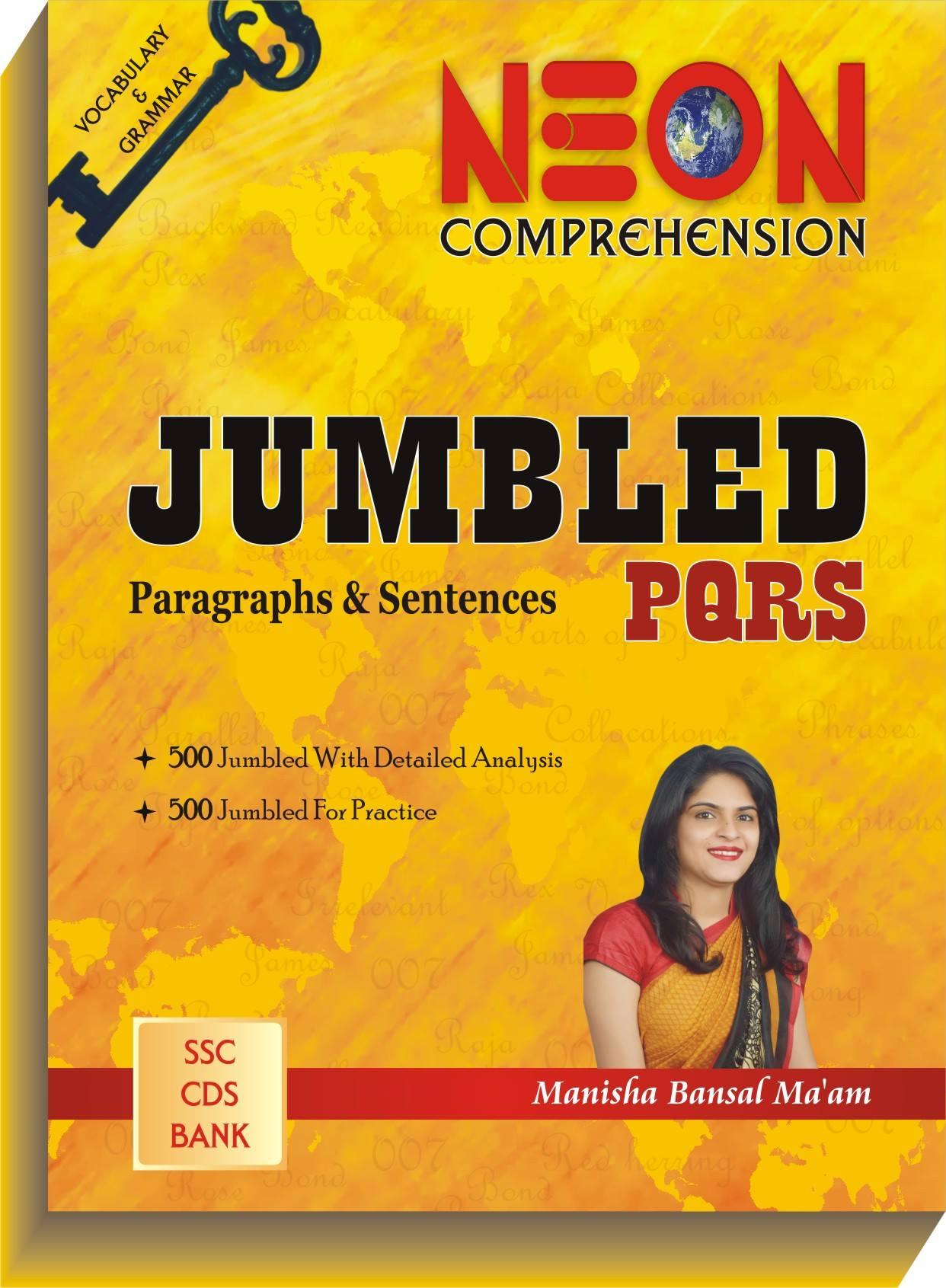 Now Available: JUMBLED PQRS (Paragraphs & Sentences)