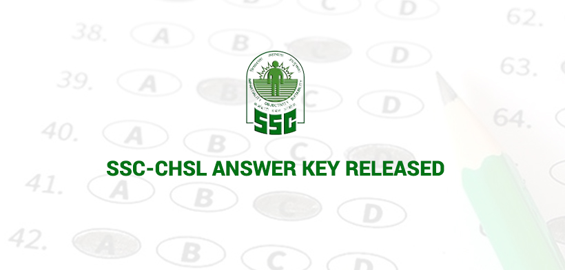SSC-CHSL Answer Key Released
