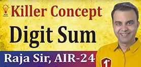 (Vedic Maths, Digit Sum)