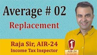 Average #2: Basic Concept/ Tricks/ Formula/ Shortcuts by RAJA SIR (AIR-24)